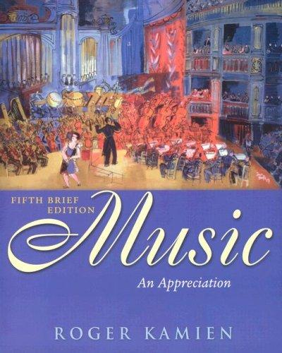 Music: Appreciation, Brief