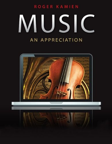 Music: An Appreciation 9780078025082