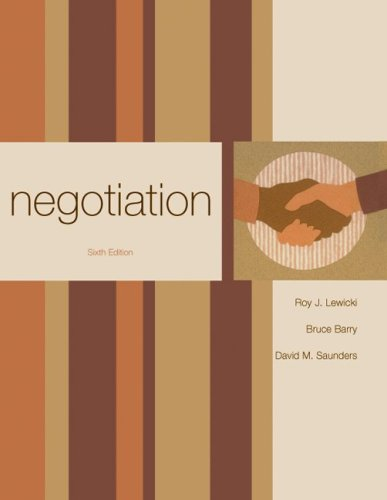 Negotiation 9780073381206