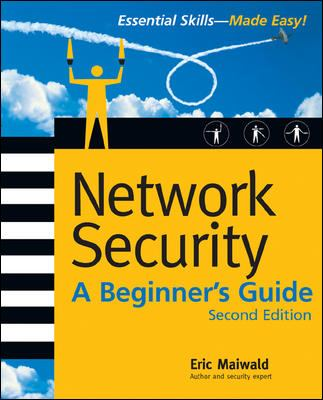 Network Security: A Beginner's Guide 9780072229578