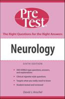 Neurology: PreTest Self-Assessment and Review 9780071455503