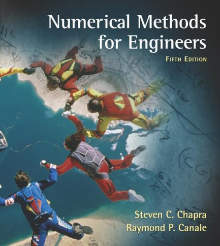 Numerical Methods for Engineers 9780072918731