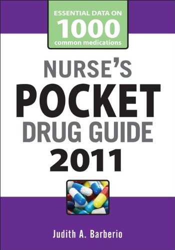 Nurse's Pocket Drug Guide 9780071737678