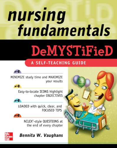 Nursing Fundamentals Demystified: A Self-Teaching Guide 9780071495707