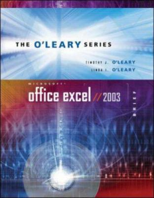 O'Leary Series: Microsoft Excel 2003 Brief with Student Data File CD 9780072939194