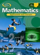 Ohio Mathematics, Course 3: Applications and Concepts