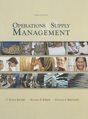 Operations and Supply Management [With CDROM] 9780071284189