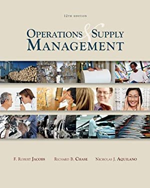 Operations and Supply Management [With CDROM] 9780077228934