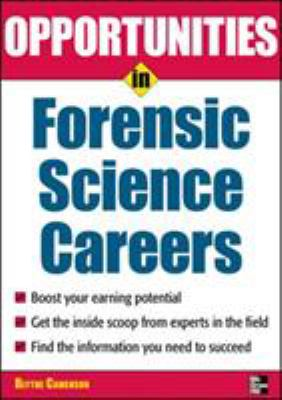 Opportunities in Forensic Science 9780071545334