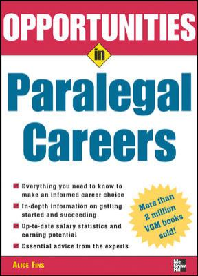 Opportunities in Paralegal Careers 9780071438445