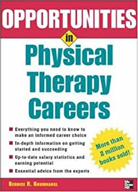 Opportunities in Physical Therapy Careers 9780071448536