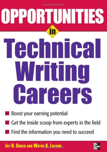 Opportunities in Technical Writing Careers 9780071493116
