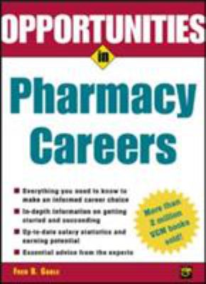 Opportunties in Pharmacy Careers 9780071411523