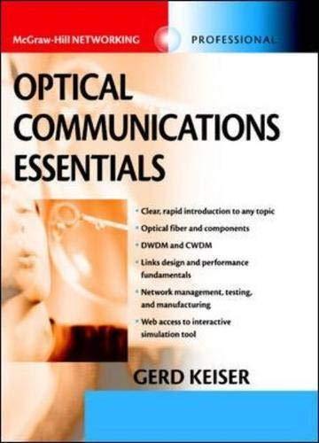 Optical Communications Essentials 9780071412049