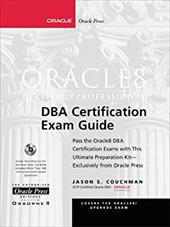Oracle 8 Certified Professional DBA Certification Exam Guide [With CDROM]