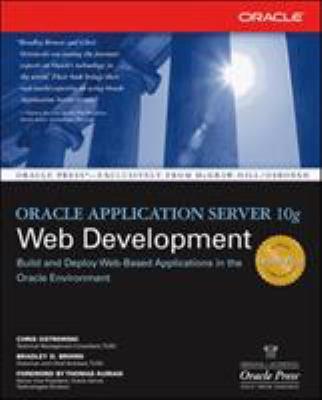 Oracle Application Server 10g Web Development 9780072255119