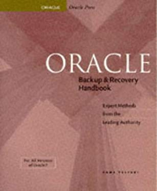 Oracle Backup & Recovery Handbook 9780078821066