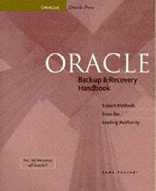 Oracle Backup & Recovery Handbook 9780078821066