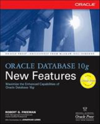 Oracle Database 10g New Features 9780072229479
