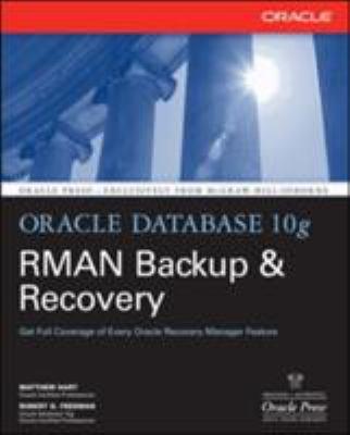 Oracle Database 10g RMAN Backup & Recovery 9780072263176