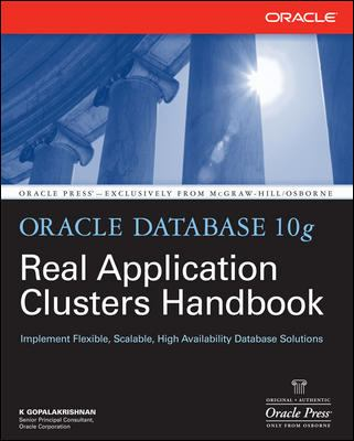 Oracle Database 10g Real Application Clusters Handbook 9780071465090