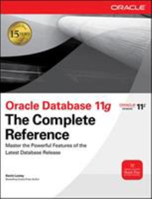 Oracle Database 11g: The Complete Reference 9780071598750