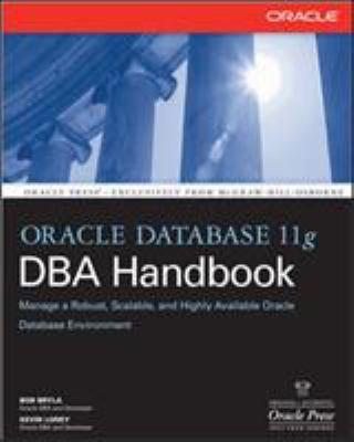 Oracle Database 11g DBA Handbook 9780071496636