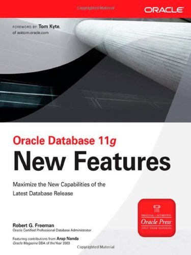 Oracle Database 11g New Features 9780071496612