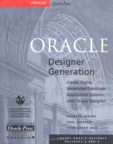 Oracle Designer Generation [With *] 9780078824753