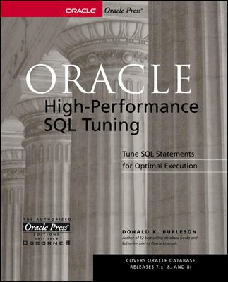 Oracle High-Performance SQL Tuning 9780072190588