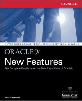 Oracle9i New Features 9780072223859