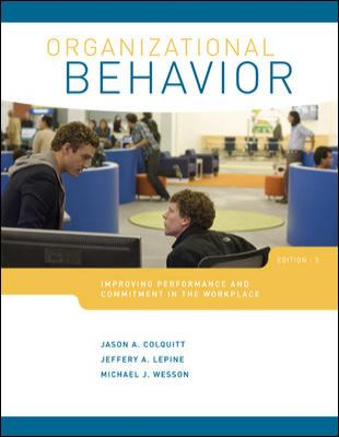 Organizational Behavior 9780077524630
