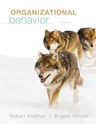 Organizational Behavior 9780078029363