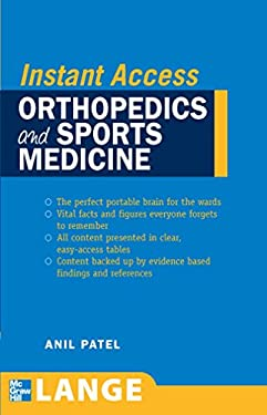 Orthopedics and Sports Medicine 9780071490092