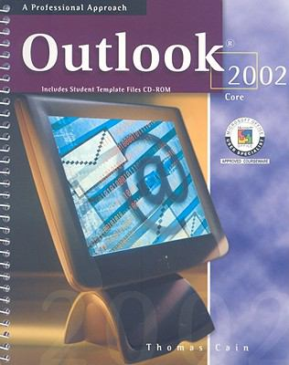 Outlook 2002 Core [With CDROM] 9780078273919