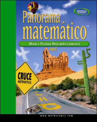 Panorama Matematico: Mira y Piensa Matematicamente, Curso 3 9780078756375
