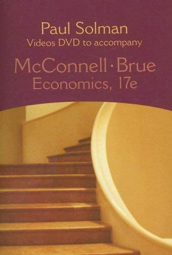 Paul Solman Videos DVD to Accompany McConnell-Brue Economics 9780073291406