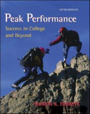 Peak Performance: Success in College and Beyond with Online Access Card 9780073133454