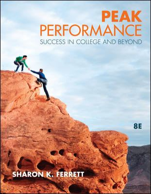 Peak Performance: Success in College and Beyond 9780073375199
