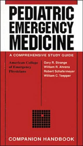 Pediatric Emergency Medicine: Companion Handbook 9780070620087