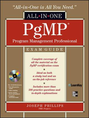 Pgmp Program Management Professional All-In-One Exam Guide 9780071549271