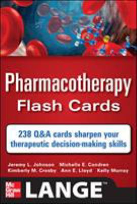 Pharmacotherapy Flash Cards 9780071741156