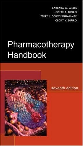 Pharmacotherapy Handbook 9780071485012