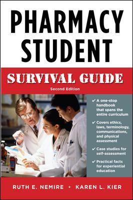 Pharmacy Student Survival Guide 9780071603874