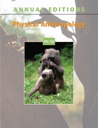 Physical Anthropology 9780073397818