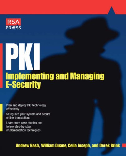 Pki: Implementing & Managing E-Security 9780072131239