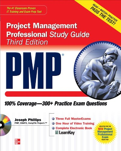 Pmp Project Management Professional Study Guide [With CDROM] 9780071626736