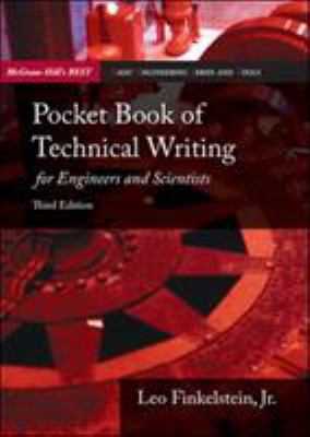 Pocket Book of Technical Writing for Engineers & Scientists 9780073191591