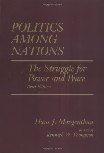 Politics Among Nations, Brief Edition 9780070433069