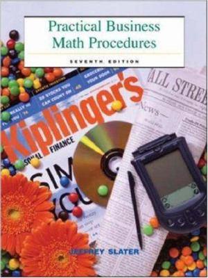 Practical Business Math Procedures: Mandatory Package with Business Math Handbook, DVD, and Wall Street Journal Insert 9780072555493